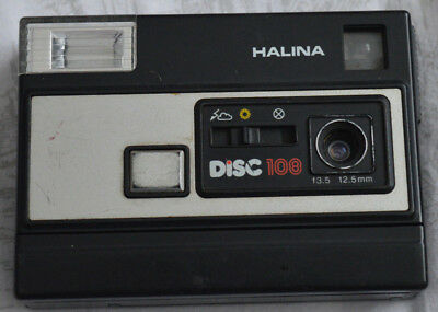 Vintage Halina disc 108 camera point and shoot compact