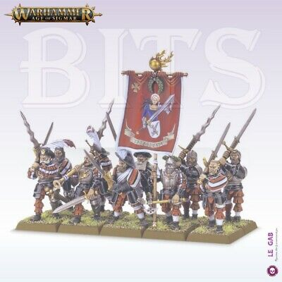 Bits Free Peoples Freeguild Greatswords Empire Joueurs D'epee Warhammer Aos