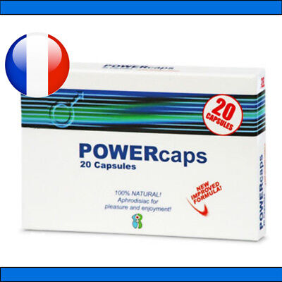 PowerCaps® 20 gélules stimulant sexuel aphrodisiaque VIAMAX POWER TABS POWERTABS