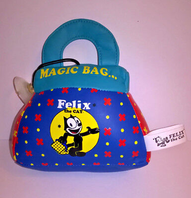"""Felix The Cat - Stuffed """"Magic Bag"""" with suction cup"""