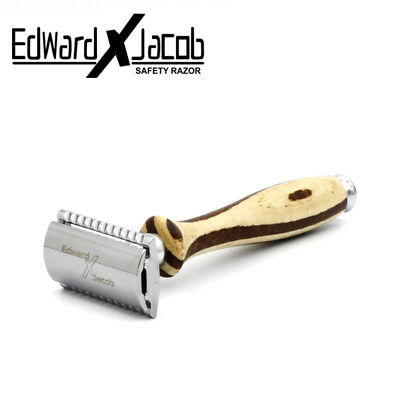EXJ - Heavy Duty Double Edge Safety Razor Recommended Clean and Perfect Edges