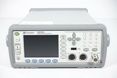 Keysight Used N1914A Power Meter - Average, Dual Ch., 201,B01,C01(Agilent)