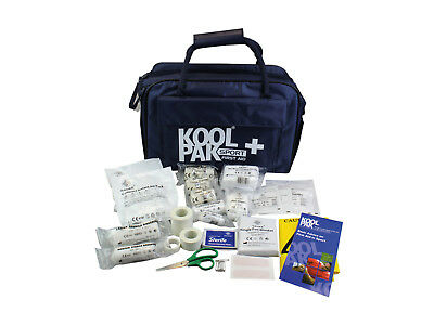 Koolpak Team First Aid Kit in Water Resistant Touchline Bag for Sports Club
