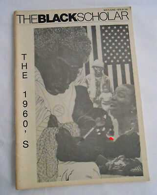 The Black Scholar Journal Of Black Studies and Research 1978 May June