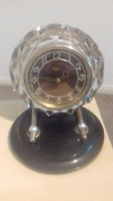 Antique Russian clock by Majak