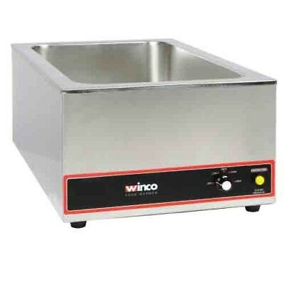 Commercial Electric Food Warmer, 6 gal Capacity, 1200W, 120v