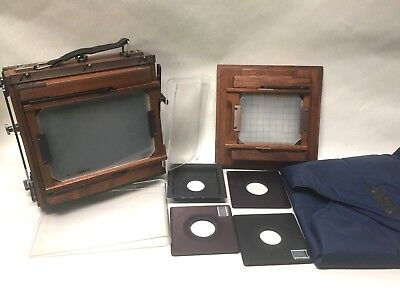K.B. Canham 5x7 field Camera package