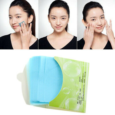 Oil absorbing sheets Blotting paper Absorbent Portable Oil control Film