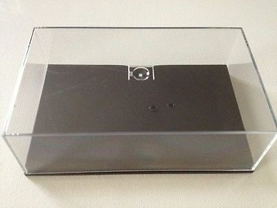 Replacement Perspex Case & Plinth For Old Style Minichamps F1 models up to 2009