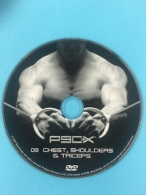 p90x chest shoulders and triceps
