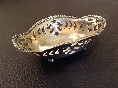 Tiffany Sterling silver Nut Bowl..late 1800's excellent cond. A real beauty!