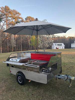 Hot Dog Stand Cart  Like New!!