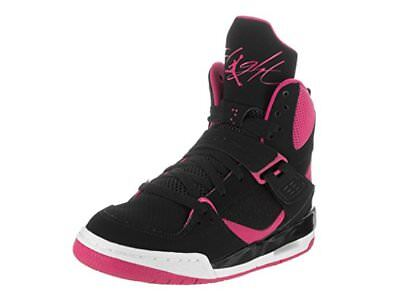 ac29f458c78 Nike Air Jordan Youth Kids Flight 45 High IP GG Athletic Basketball Shoe