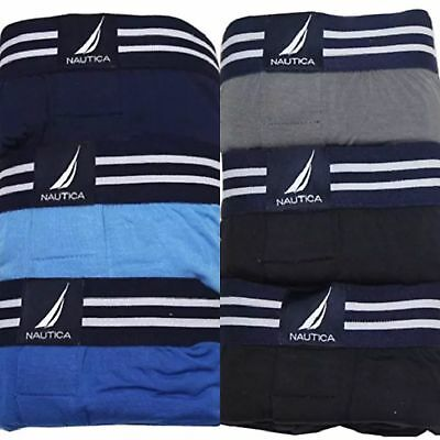 SALE! MEN'S NAUTICA 3 PACK BOXER SET VARIETY Size & Color! Free Shipping!