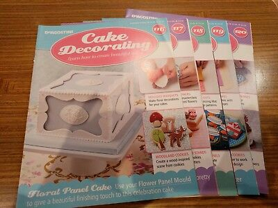 DeAgostini Cake Decorating 116-120