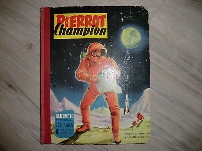 album pierrot champion bd PIERROT Champion Albumn°10 - n°97 à 109