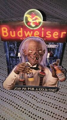 1995 Tales From The Crypt Budweiser  Crypt Keeper Promo Item Horror Halloween