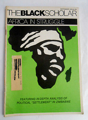 The Black Scholar Journal Of Black Studies and Research September 1978