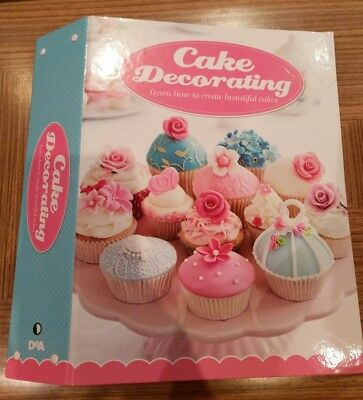 DeAgostini Cake Decorating Folder