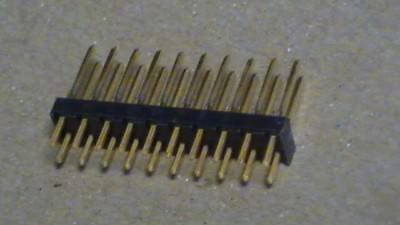 Lot (18) TE 87215-7 Rectangular Header Connectors Male Pins Tyco Electronics