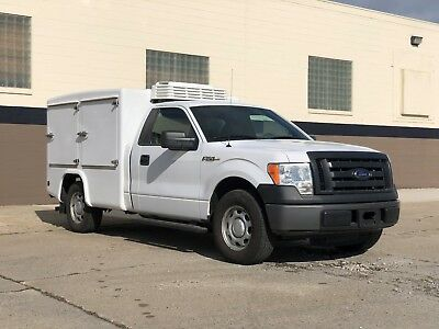 Food truck,catering Truck,Refrigerated/Heated,2010 F150xl,Delivery Concepts Box