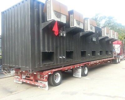 Air conditioned shipping containers high cube hc bitcoin mining modifications