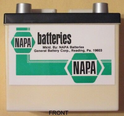 BANK   Plastic Napa Battery Bank in Used Condition
