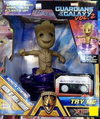 Marvel Guardians of the Galaxy Vol 2 Remote Control Rock n Roll Groot