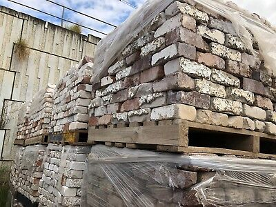 Builders Grade Recycled Bricks - Delivery Available. Price Is Per Thousand.