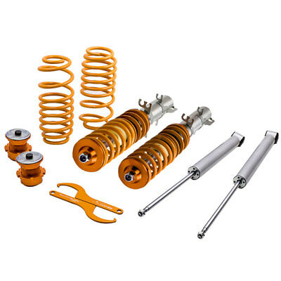 Adjustable STREET Coilovers for VW Golf MK4 2WD only A4 1998-2005 Coil Springs