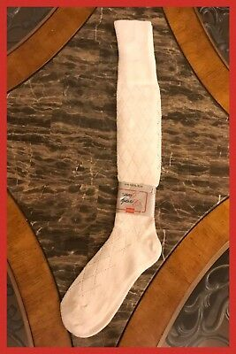 Vintage NEW 1970s Womens HANES Red Label Beverly Jane Knee High Socks 9 - 11
