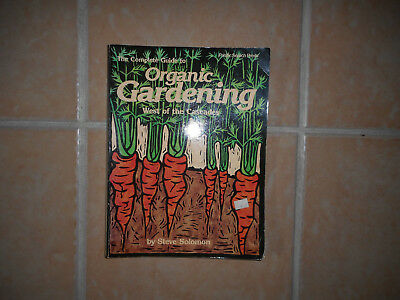 The Complete Guide to Organic Gardening West of the Cascades by Steve Solomon (1