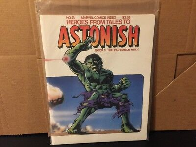The Incredible Hulk Heroes From Tales To Astonish Book 1 No 7A NM