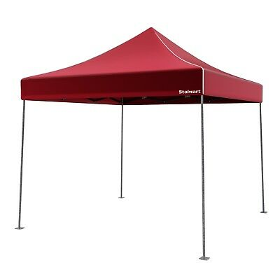Instant Folding Canopy Portable C&ing Tent 10x10 Pop Up Shelter W Carrying Bag  sc 1 st  PicClick & 10 X 10 Instant Canopy Tent Gazebo Coleman Pop Up Shade Shelter ...