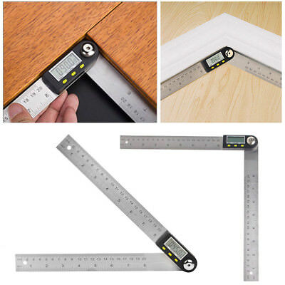 Electronic 7 inch 360 Degree Digital Angle Rule Ruler Finder Meter Protractor S1