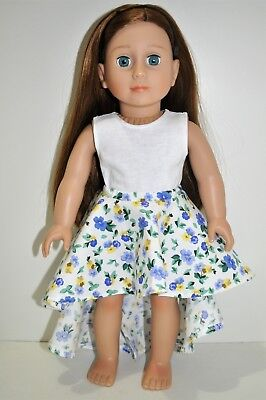 American Girl Doll Our Generation Journey 18 Inch Dolls Clothes Crop Top Skirt