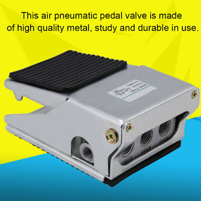 1pc G1/4 Foot Operated Pedal Valve 4 Way 2 Position Air Pneumatic Switch FV-420