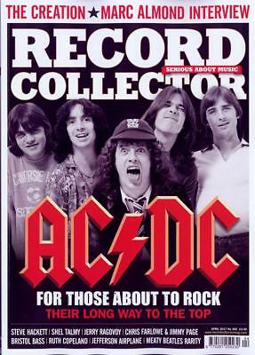 RECORD COLLECTOR - ISSUE 465 - APRIL 2017 - ACDC CREATION Last One To Clear