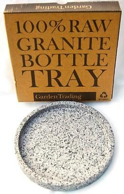 A  pure  Granite  Bottle Tray.  By  Garden  Trading