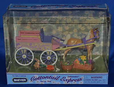 Breyer~2005~Cottontail Express~Easter Wagon Play Set~Stablemate~Sm~NEW