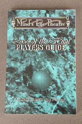 Mind's Eye Theatre - Laws of the Hunt -  Players Guide (Vampire Larp/RPG)