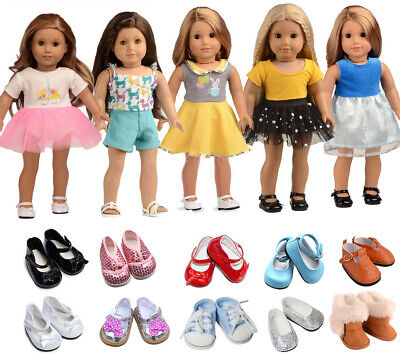"""Doll Clothes Lots 7 PC for 18"""" Dolls American Girl Dolls"""