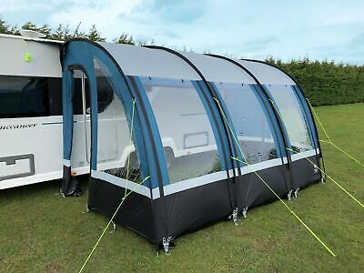 Royal Oxhill 390 Lightweight Caravan Porch Awning With Alloy Rear
