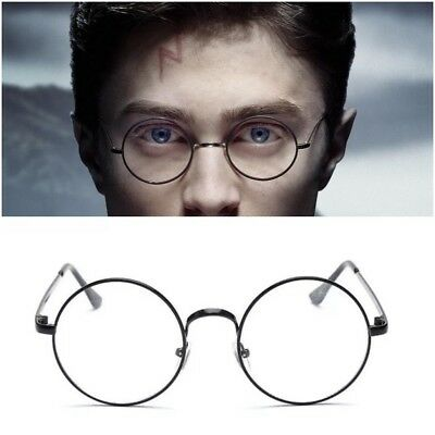 Harry Potter Round Glasses Fancy Dress Costume Cosplay Accessory Kit