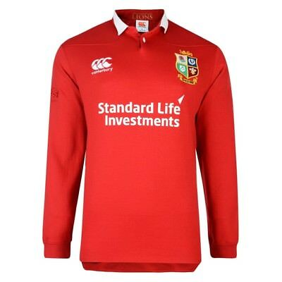 British Lions 2017 Cotton Long Sleeve Rugby Shirt