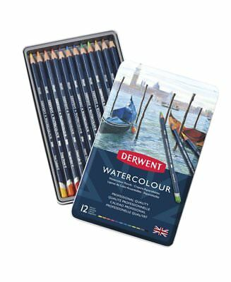 Derwent Professional Watercolour Pencils 12 Tin Set