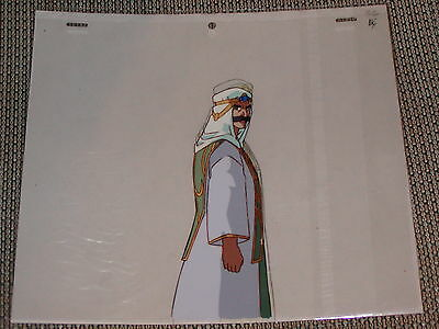 Slayers Next Production Anime Cel - Amelia's Uncle Christopher + Sketch