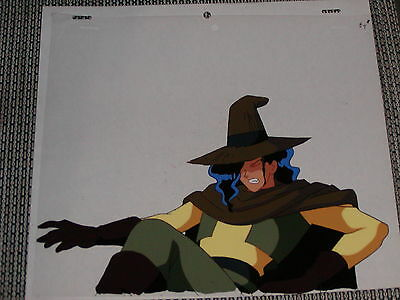 Slayers Production Anime Cel - Zangulus Falling