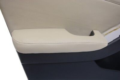 Front Door Armrest Cover Synthetic Leather Fits Nissan Altima 07-12 Beige