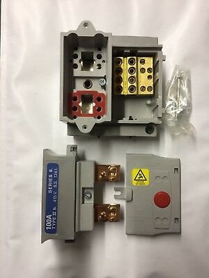 WT Henley SPN House Service fuse cut out holder 60-100amp similar to Lucy.